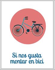 Si nos gusta montar en Bici