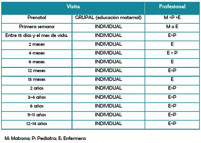 Cronograma de actividades individuales